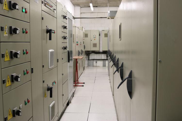 Sala dels transformadors d'electricitat